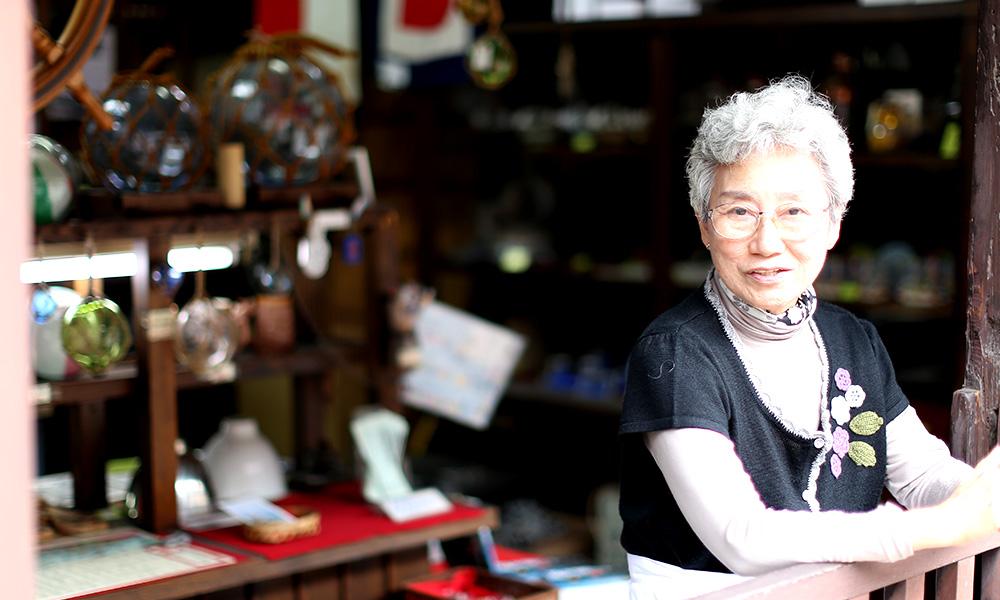 「澤村船具店」 澤村道子おかあさん