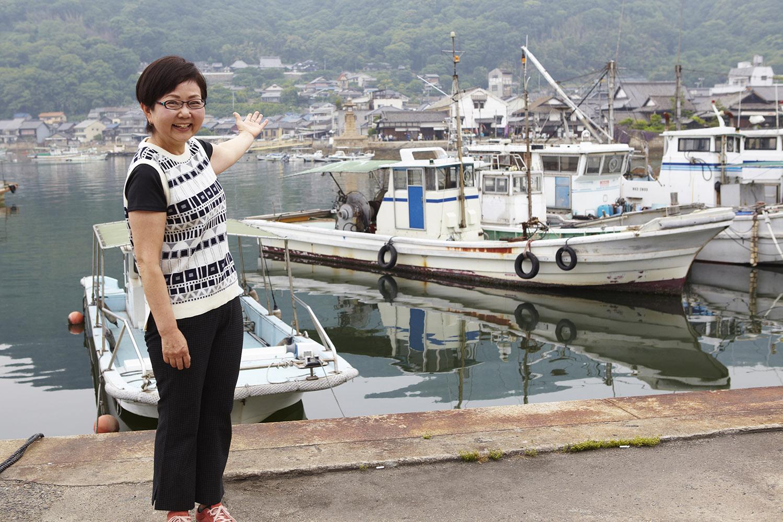 鞆の浦塾サロン 式見景子さん