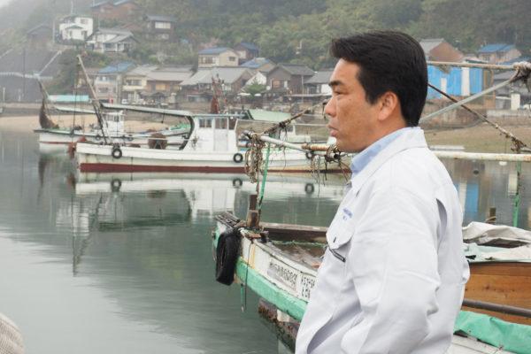 鞆の浦漁業協同組合 代表理事組合長 羽田幸三さん