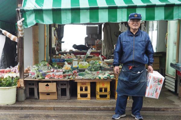 沖辰商店 店主 沖本大助さん